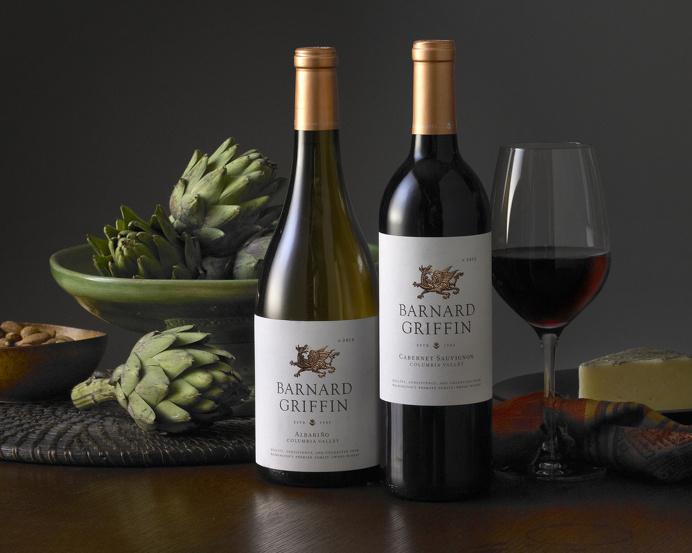 Barnard Griffin ~ Wine Label Design ~ Auston Design Group