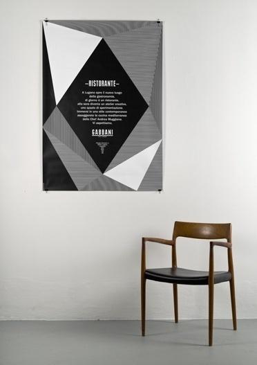 Gabbani ristorante : DEMIAN CONRAD DESIGN #identity