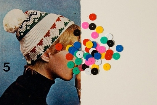 It's Nice That : Rainy day blues? Check out Virginia Echeverria Whipple's collages #echeverria #whipple #virginia