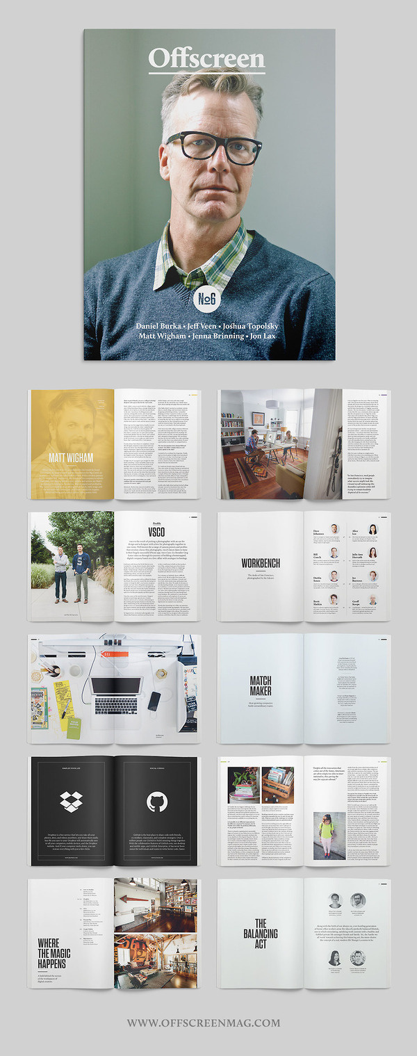 Offscreen Issue No6 #print #editorial #magazine