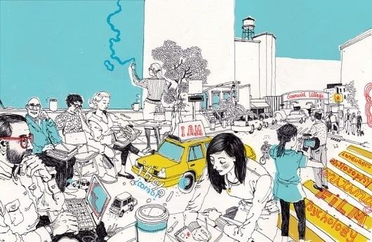 Josh Cochran: work #illustration #josh #cochran
