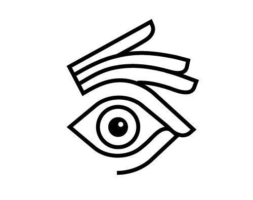 Field Study #logo #line #hand #eye