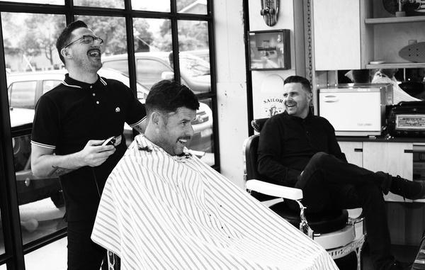 THE MO BROS Benn Wood #movember #blackwhite #moustache