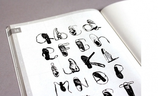 audible / move / still. #alphabet #shoes #typography