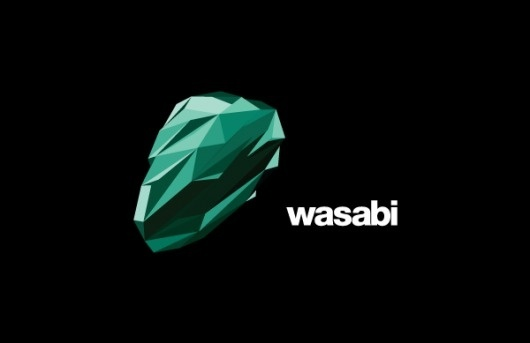 Wasabi on Branding Served #logo #soda #identity #branding