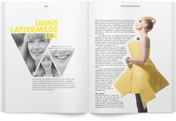 triangle and mag #mag #yellow #editorial #magazine