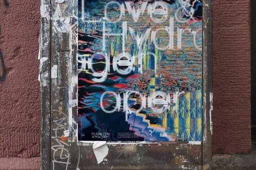 love, hyrdrogen, zeppelin, oper, berlin, opera, street, poster, plakate