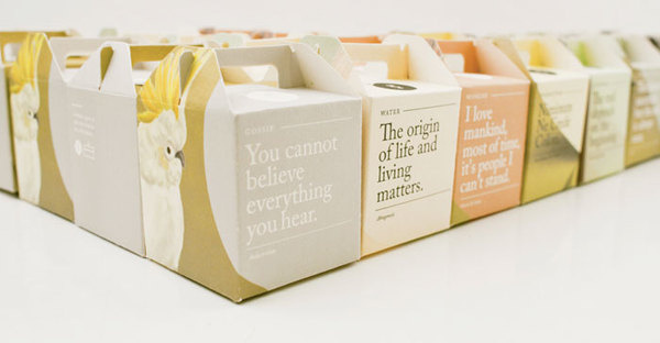 The Rabbit and the Monday Misfits The Dieline #packaging #pack