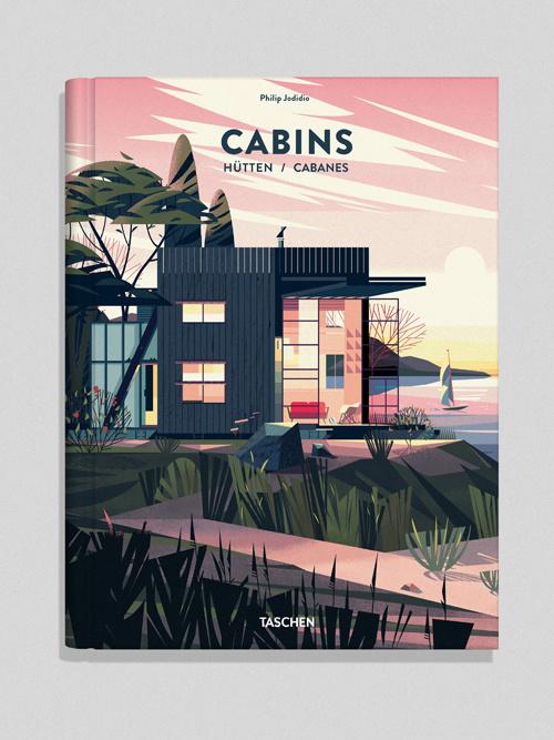 CABINS BOOK – illustrations