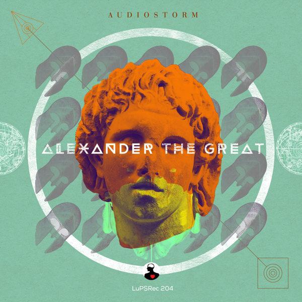 Audiostorm EP Cover #album #design #color #illustration #art #typography