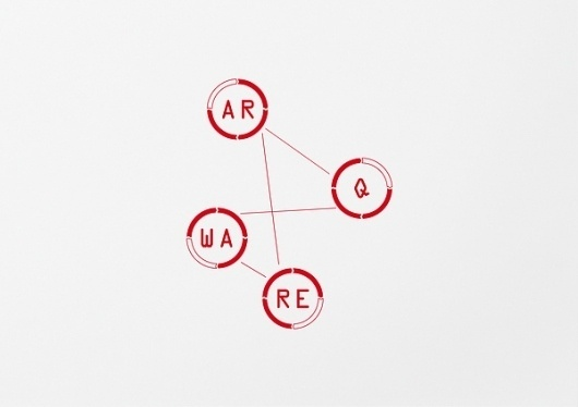 ARQWARE on the Behance Network #logo #identity #branding