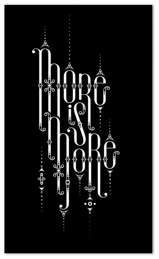 Mind blowing examples of experimental typography | Webdesigner Depot #typography
