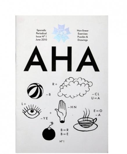 AHA | Hato Press #cover #book #brochure
