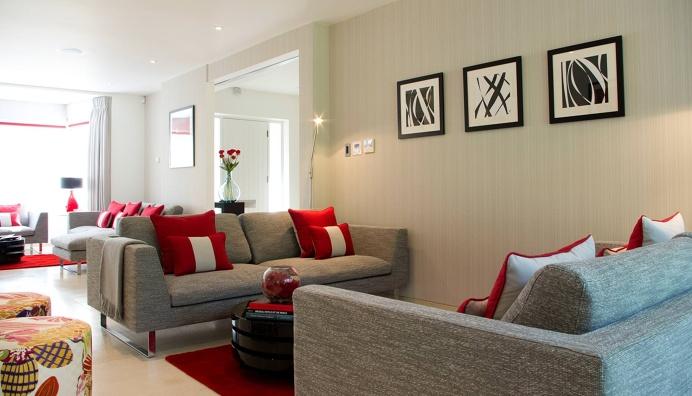 Classic contemporary #livingroom #interiordesign