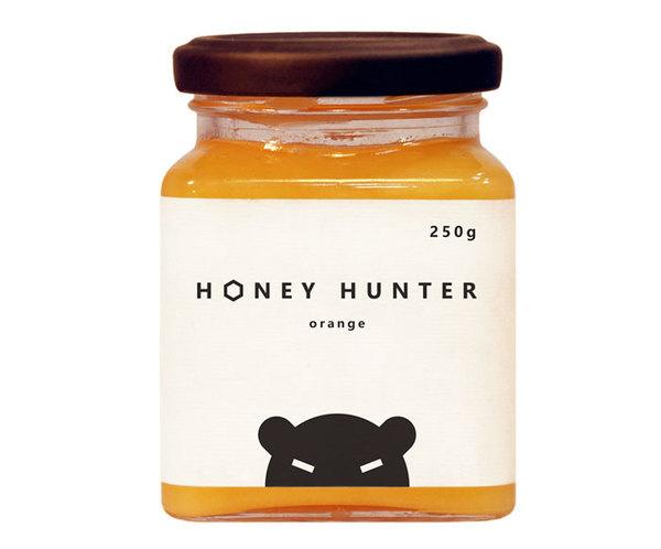 Honey HunterThe Dieline #packaging