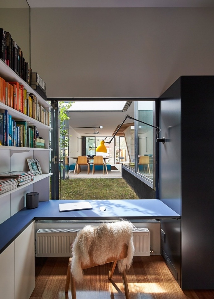 Revamped Melbourne house hides a giant toy box under its floors