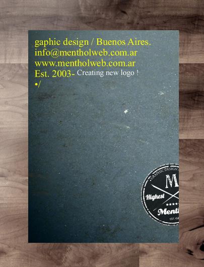 creating logo #logotype #process #book #menthol #typo