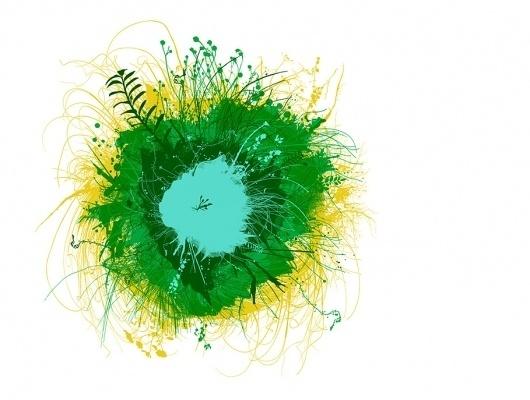 Chris Keegan Illustration and prints #chris #grass #landscape #illustration #nature #flower #keegan