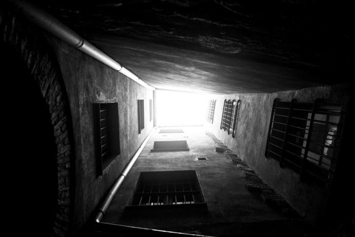 Girona don't look up | Flickr - Photo Sharing! #girona #sky #look #walby #iphone #up #david #wall-b