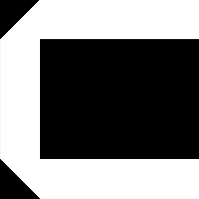 Geometric C #font #c #typography
