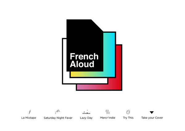 French Aloud #music #aloud #french #branding