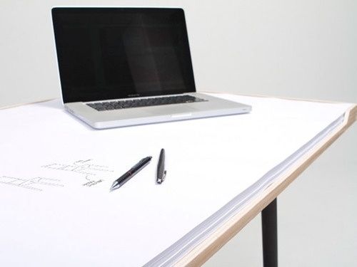 Minimal #white #clean #desk #minimalist #mac