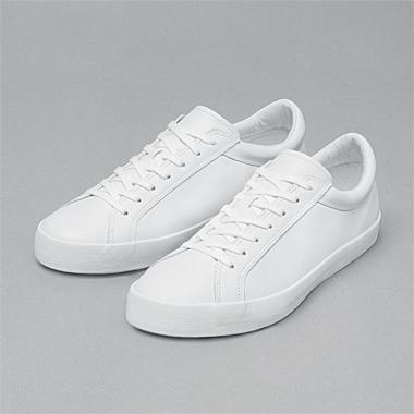 www.erikschedin.com #white #schedlin #leather #erik #trainers