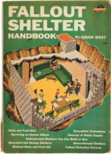 """An excerpt from the book """"Better Homes & Bunkers: The Fallout Shelter for the Nuclear Family"""" by Susan Roy: Observatory: Design Observer #cover #nuclear #retro #book"""