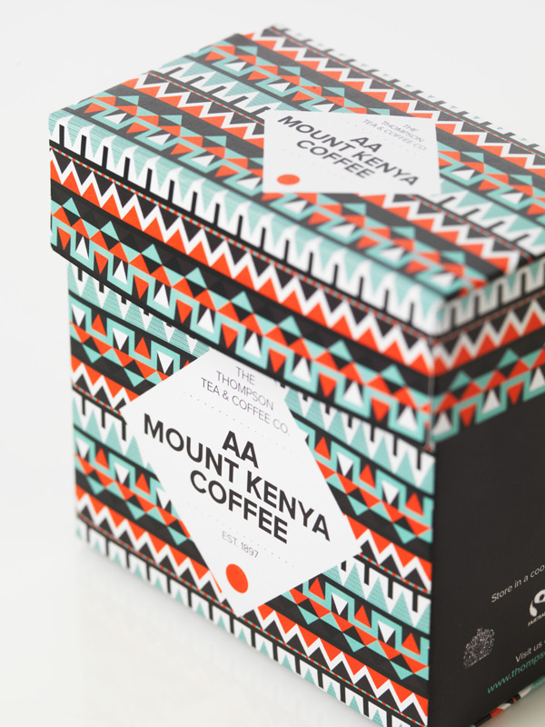 Thompson Tea & Coffee Co. on Behance #pattern #packaging #design #illustration #tea