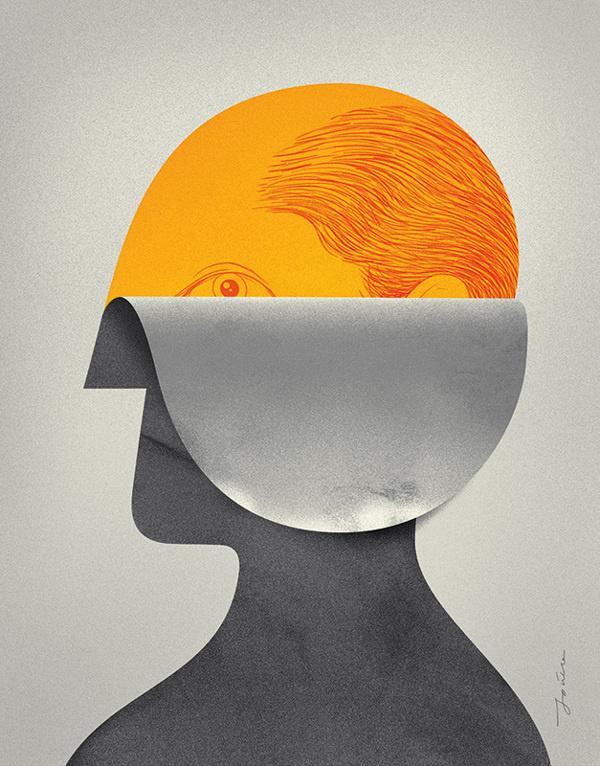 Memory Game #illustration #memory #face