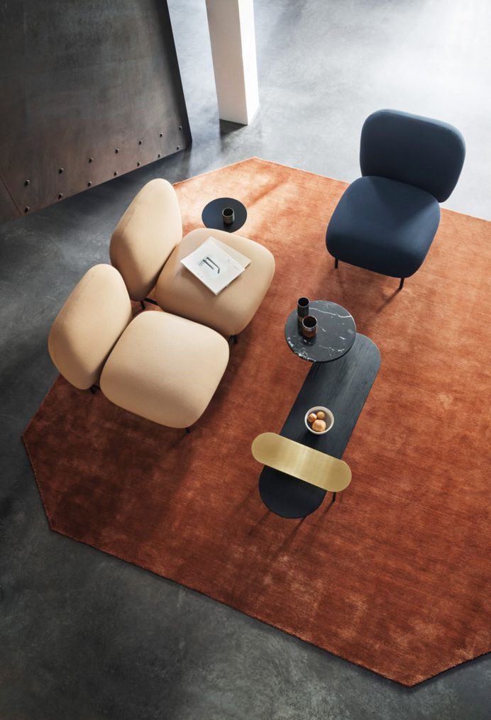 Isole Modular Seating by Luca Nichetto and Nendo for &tradition - Design Milk