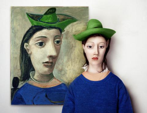'The Real Life Models' by Flora Borsi | PICDIT #painting #digital #art