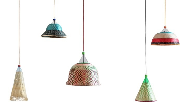 Pet Lamp: unique handcrafted lamps made from plastic bottles #crafts #design #lamps