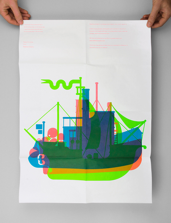 random image #illustration #poster #boats