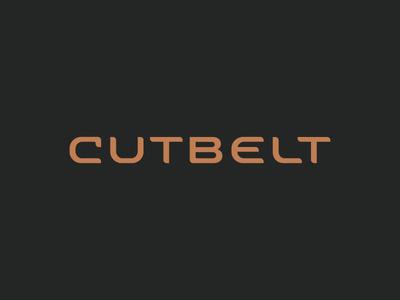 Cutbelt word mark #cut #belt #cutbelt #tsanev #bulgaria #logo #wordmark