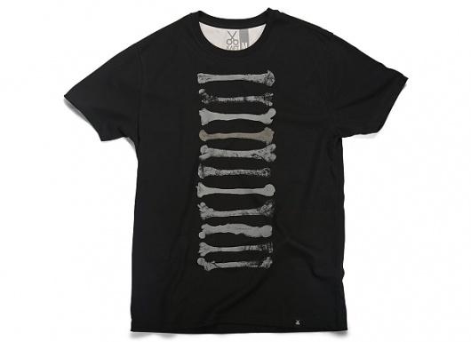 KAFT Design - BONESÂ Tshirt #clothing #design #bone #tshirt #ettinger #tee