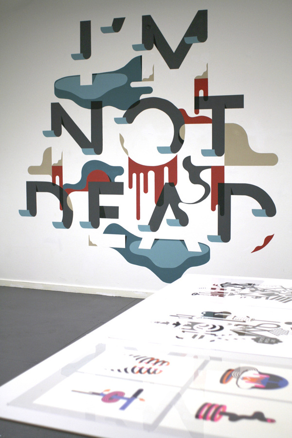 I'M NOT DEAD -Staynice #typography