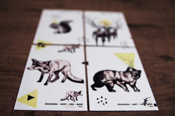 Quartet / Puzzle on Behance #design #graphic #puzzle #illustration #art #animals #game