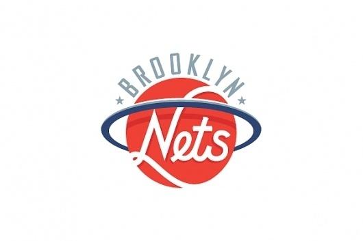 NBA Logo Redesigns: Brooklyn Nets – Michael Weinstein Design #logo #identity #nets #typography