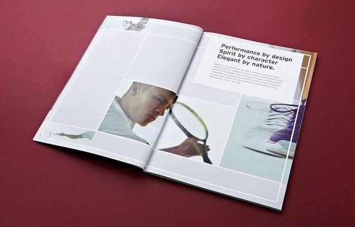 Head lookbook - two times elliott #layout #editorial #typography