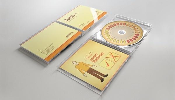 Juno - Packaging #packaging #pickin #cd