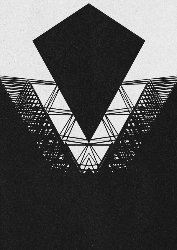 Geometric versions #geometry #design #blaqk #posters #symmetry #greece #patterns #simek #athens