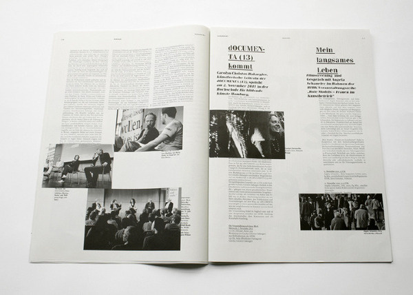 Lerchenfeld johannafloeter #print #design #newspaper #layout #editorial #magazine #typography