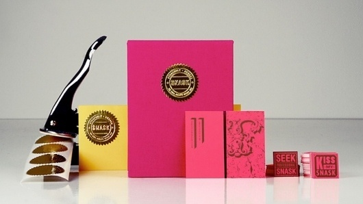 SNASK – Designing Brands & Lifestyles #stationary #pink #design #graphic #snask #identity #emblem #typography