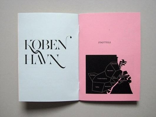 Kopenhagen City Guide on the Behance Network #design #britta #copenhagen #siegmund #editorial