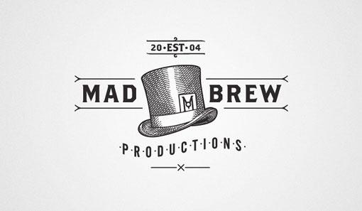 design work life » Adam Hill: Mad Brew #hill #brew #adam #identity #logo #mad