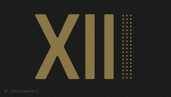 Cinographic XIII! #happy #numerals #year #roman #xiii #new