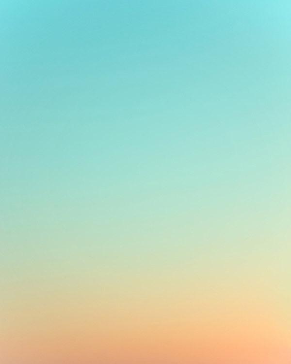 Sky Series by Eric Cahan #blue #orange #sky