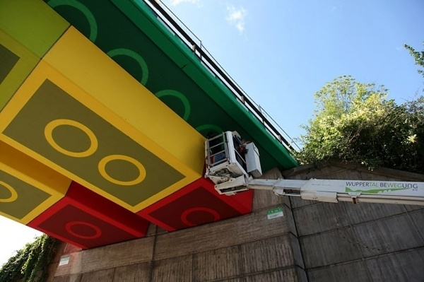 megx: LEGO bridge in germany