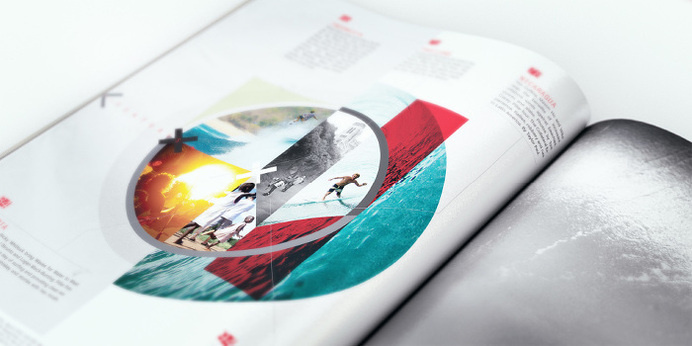 Surfing Magazine Editorial 2012 - Joy Stain #surf #surfing #print #layout #editorial #magazine #typography